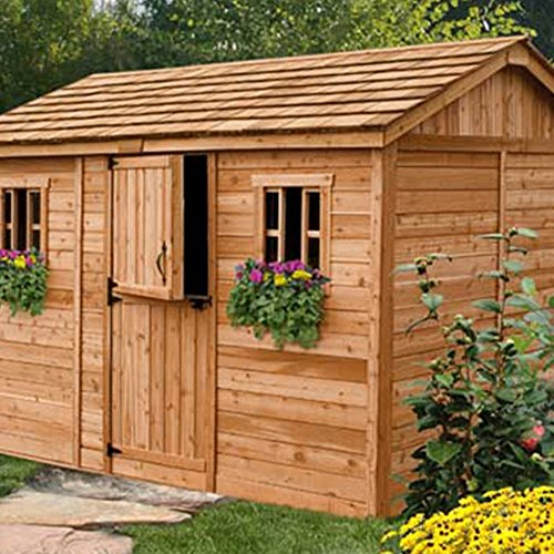 Outdoor-Living-Today-CB128-Cabana-12-x-8-ft-Garden-Shed