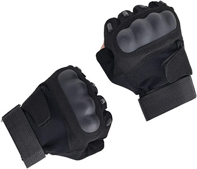 Tactical Gloves Knuckles Army Hunting Shooting Fist Full Finger Cropped Finger