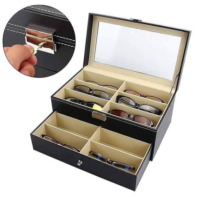 Amazon.com: Mochiglory - Organizador de gafas de sol con 8 ...