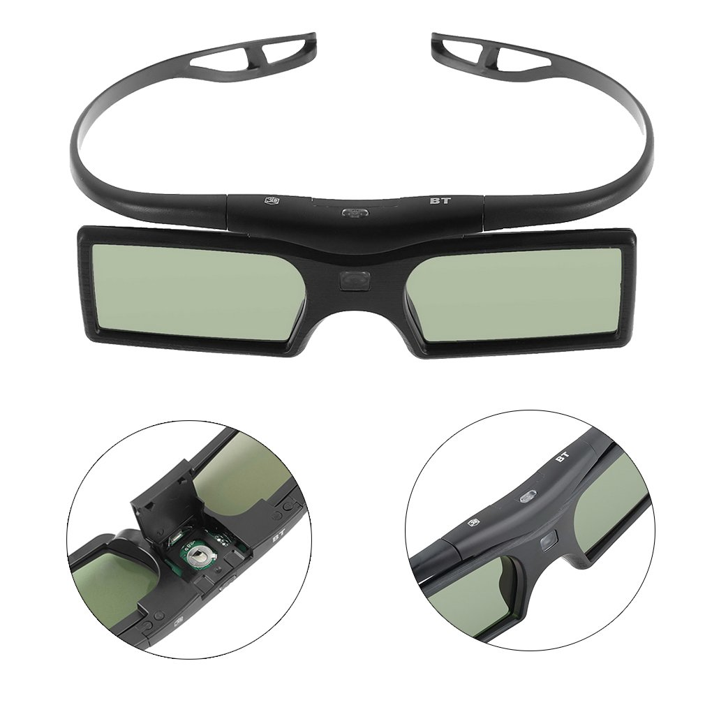 1pc 3D Shutter Active Glasses for Samsung//for Panasonic for Sony 3DTVs Universal TV 3D Glasses