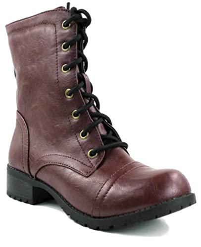 Amazon.com | Kali Footwear Women's Winner Mid Calf Faux Leather ...