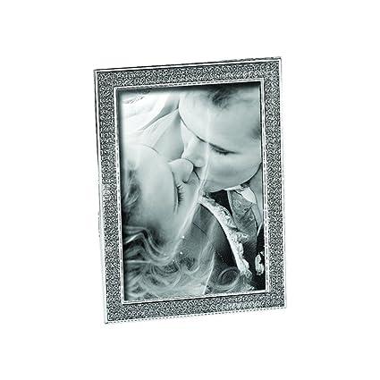 Amazon.com - Silver Glitter Galore Crystal Encased 8\