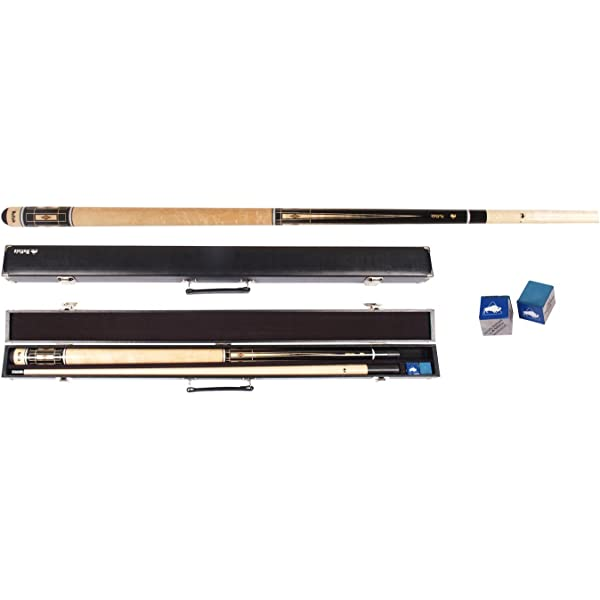 Buffalo Cuetec Chinook Pool Cue Black - Taco de Billar, Talla ...