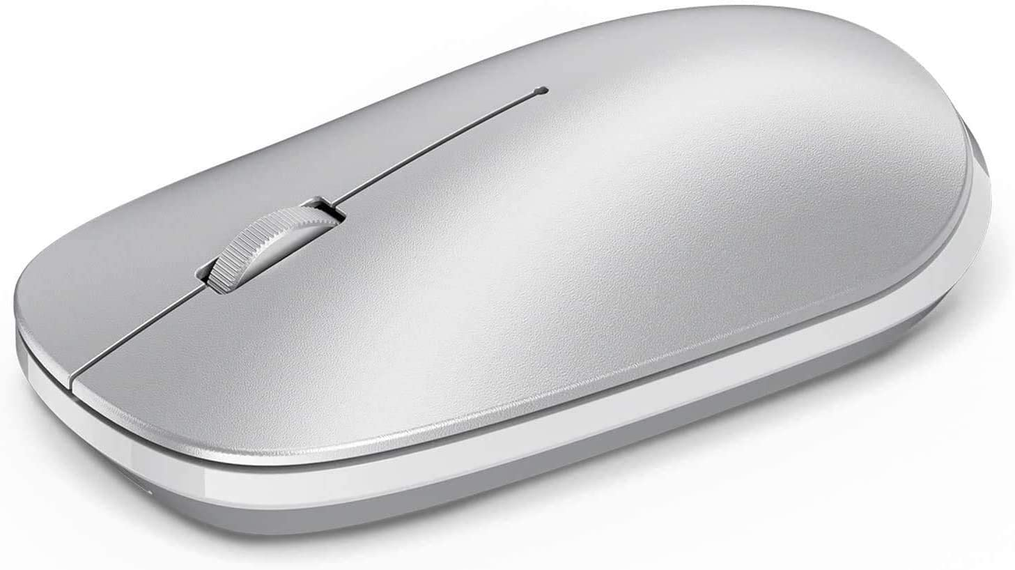 OMOTON Bluetooth Mouse Compatible with iPad 11/12.9, iPad Air 4 10.9, iPad 8th/7th Generation