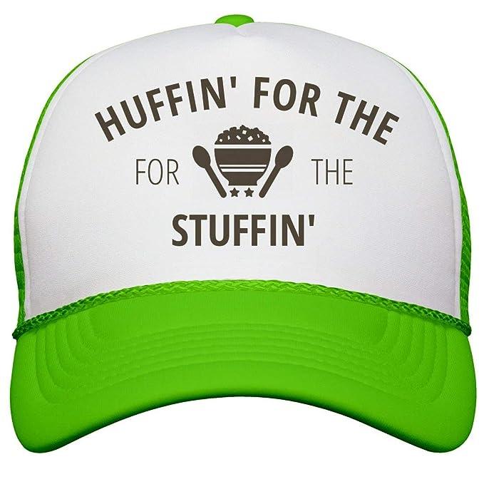 663e90b8 Amazon.com: Customized Girl Huffing at The Turkey Trot: Neon Snapback  Trucker Hat: Clothing