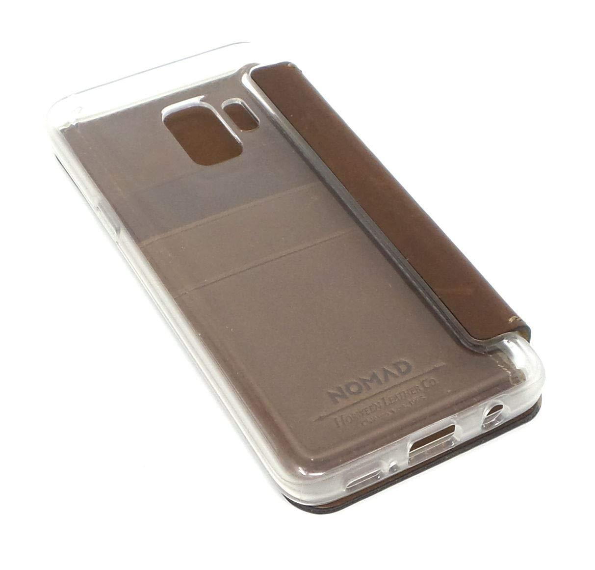 quality design d2d13 70355 Amazon.com: Nomad Case for Samsung S9 Wallet Case Clear Folio ...