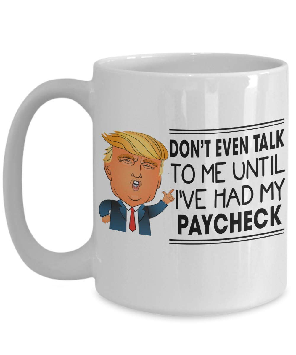 Amazon Com Donald Trump Shutdown Coffeemug Don T Even Talk To
