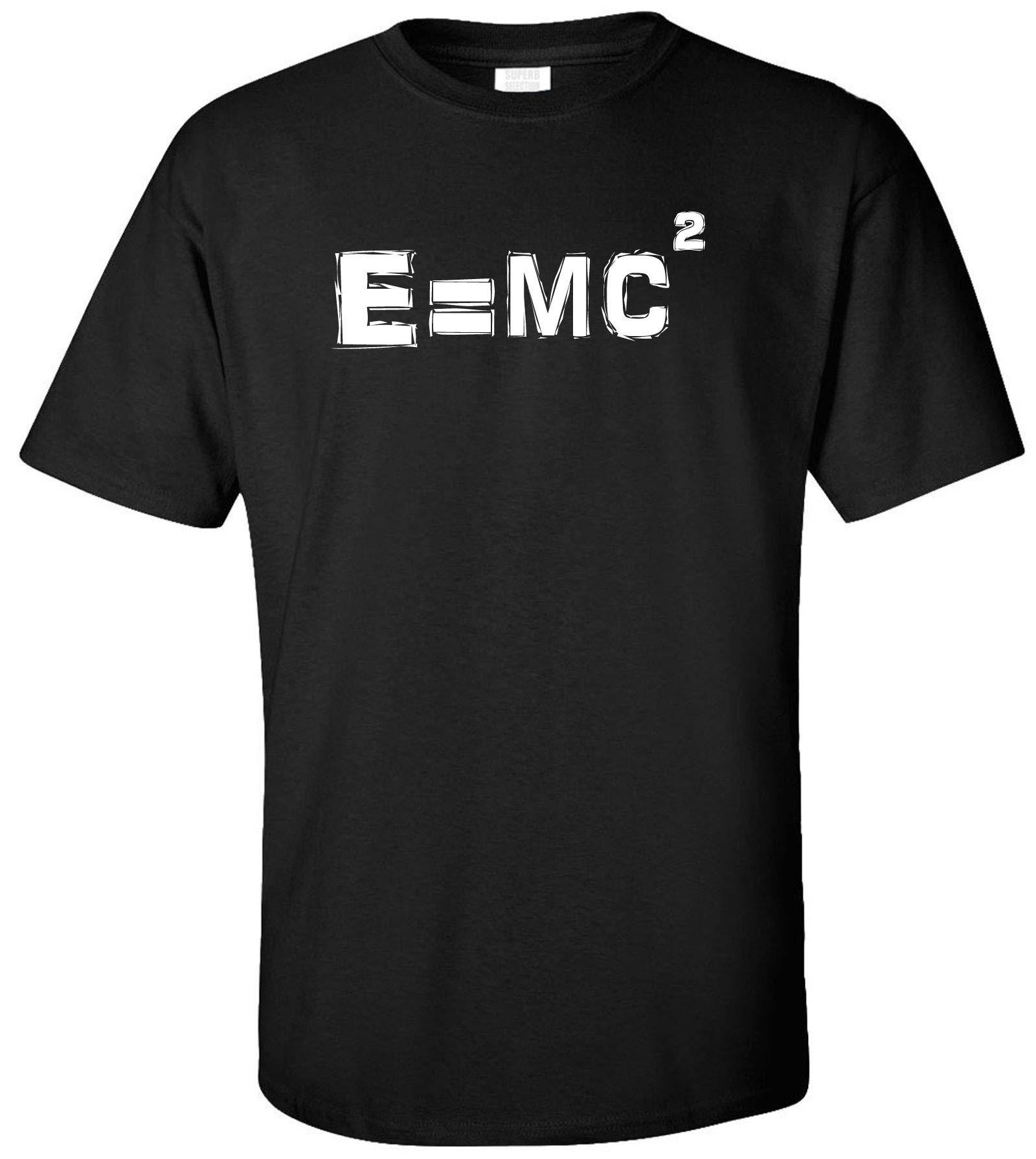 Albert Einstein E Mc2 Equation Adult T Shirt 1349