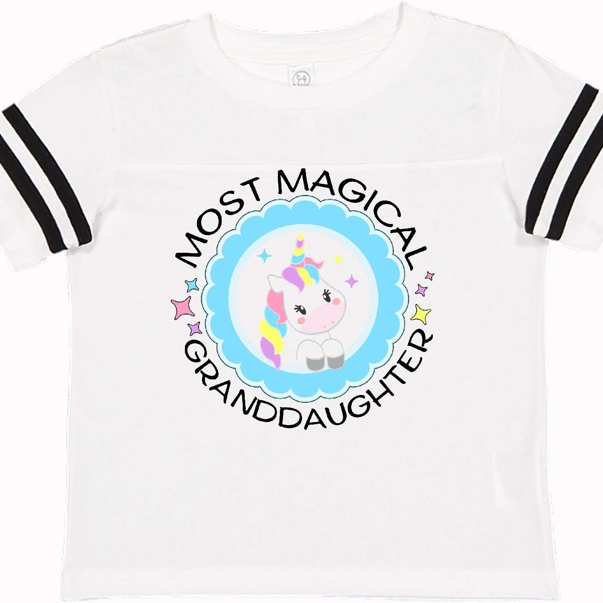 inktastic Most Magical Granddaughter Cute Unicorn Badge Toddler T-Shirt