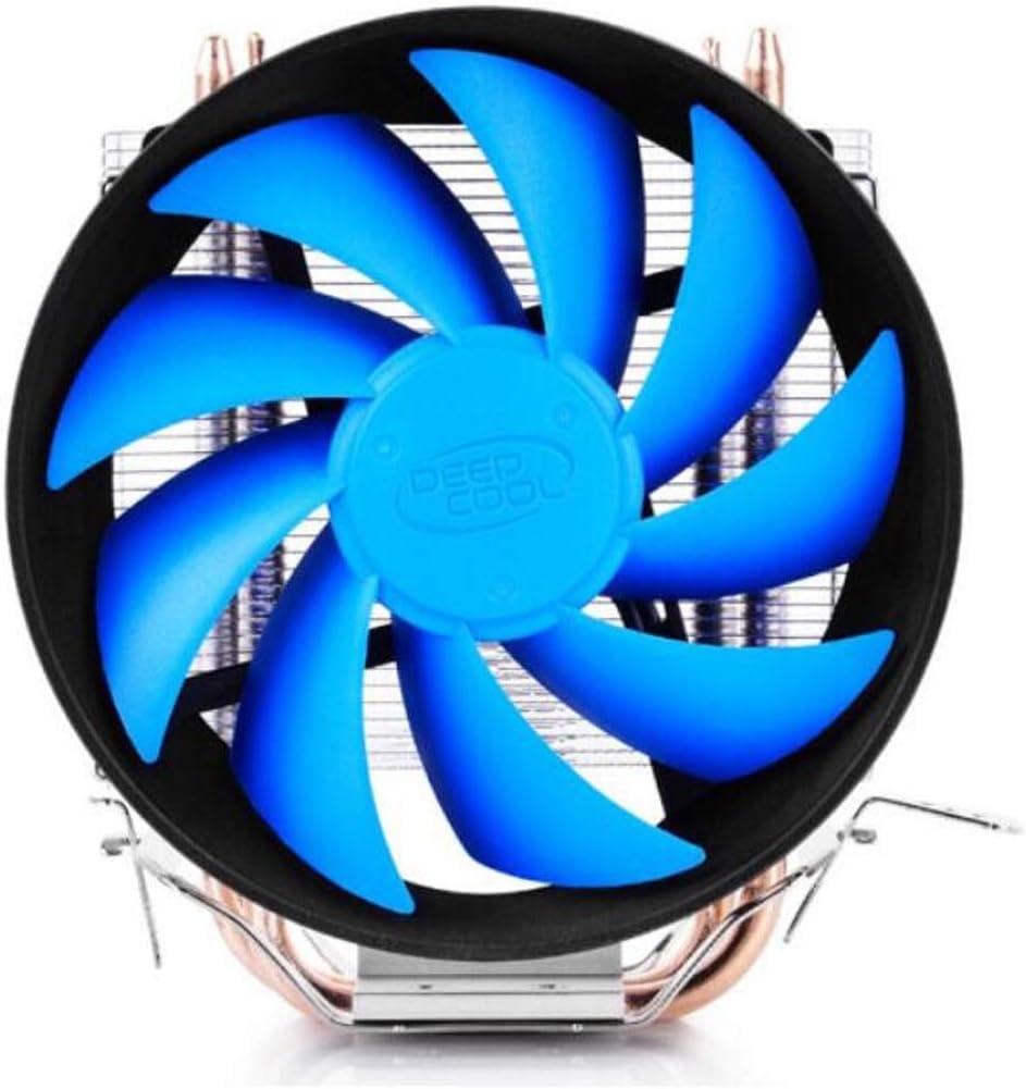 Jiansheng01 Radiador de la CPU, Doble Tubo de Calor 12cm ...