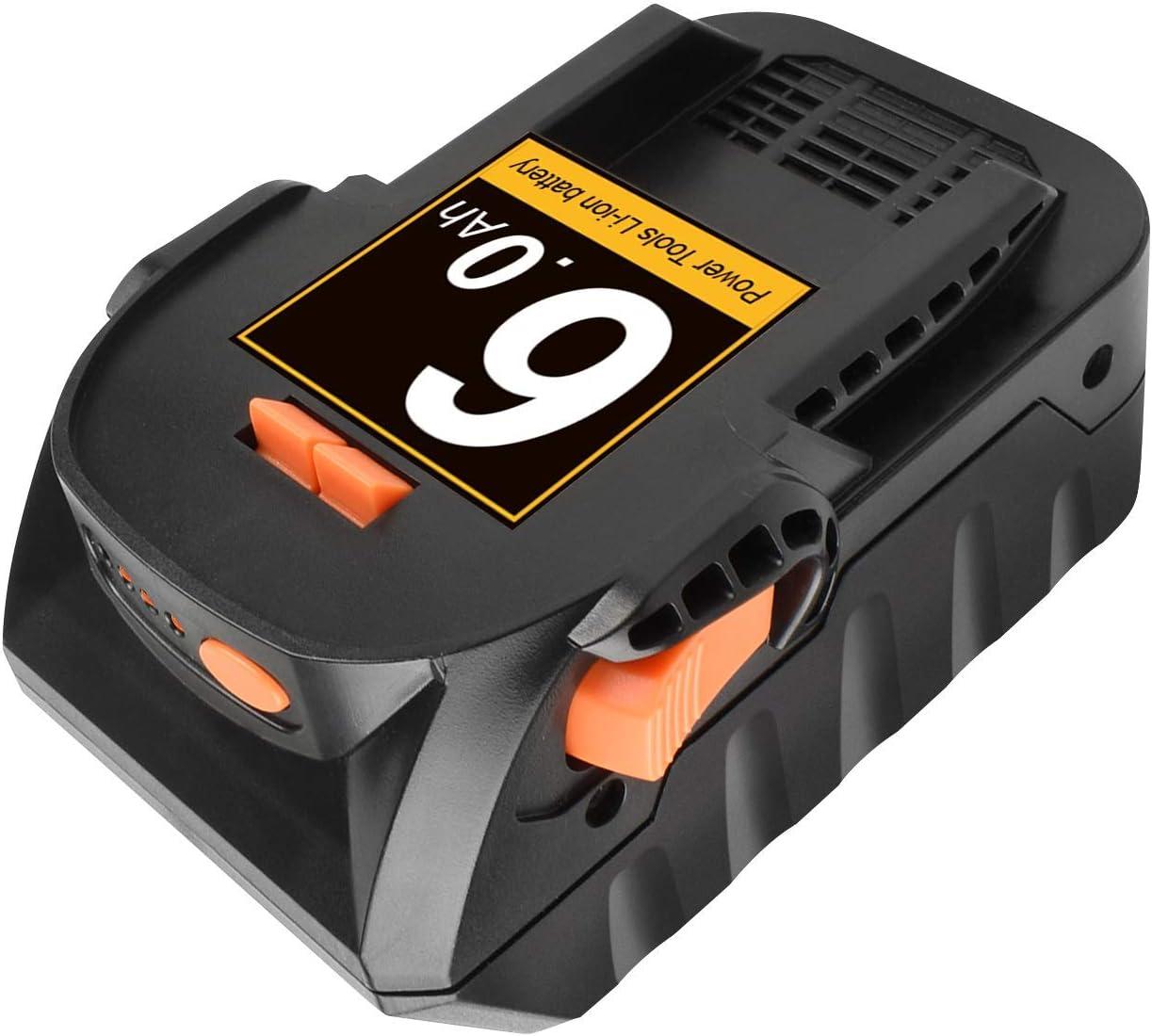 For Ridgid R840085 6.0Ah Lithium Battery Rigid 18V R840087 R840083 Power Tools