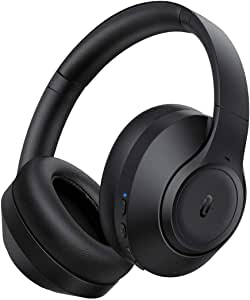 TaoTronics Hybrid Active Noise Cancelling Headphones 3 ANC Modes [2020 Upgraded] Bluetooth Headphones SoundSurge 55 Over Ear Headphones Wireless Headset with HD Stereo Sound 30H Playtime CVC 8.0 Mic