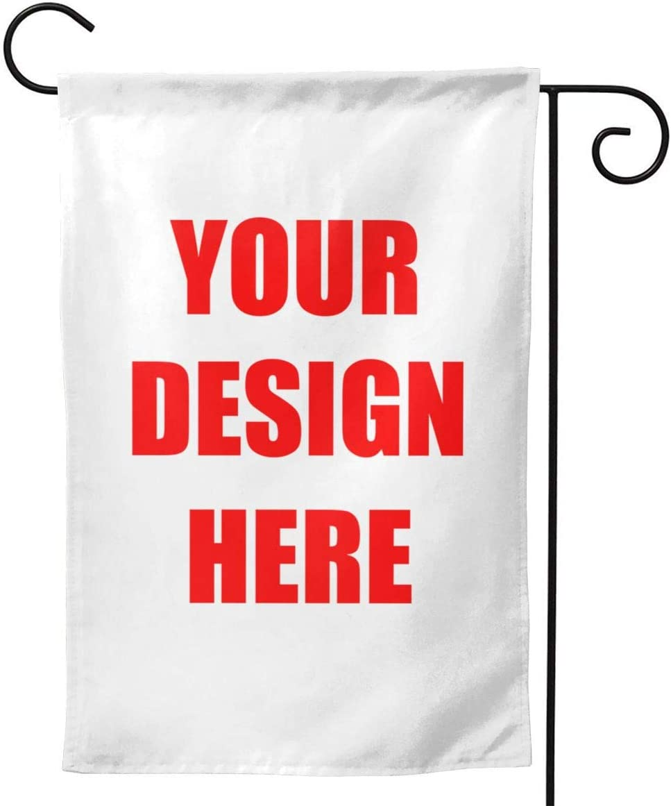 Years Custom Flags for Garden and Home Decor with Photo Text Double Sides Print Flag