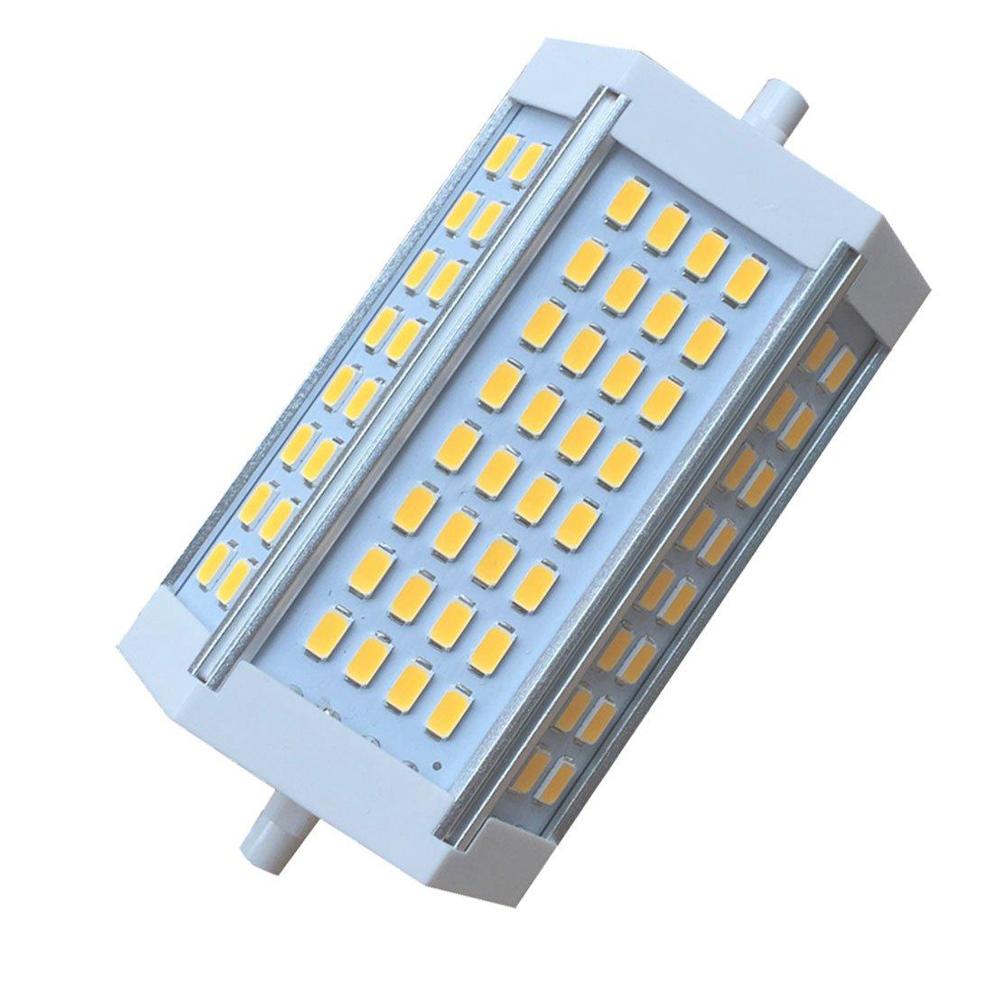 ohne L/üfter Bonlux 30W Dimmbare R7s Linear LED Tube 118mm K/ühl Wei/ß 6000K 200 Degrees Super Bright J Typ J118 R7s Scheinwerfer-Birnen-250W Halogen-Ersatz LED