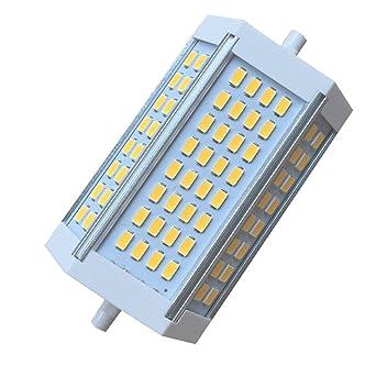 Akaiyal 30W R7s LED Lámpara Regulable 118MM Double Ended J118 Spotlight Bombilla Blanco Frío 6000K 200