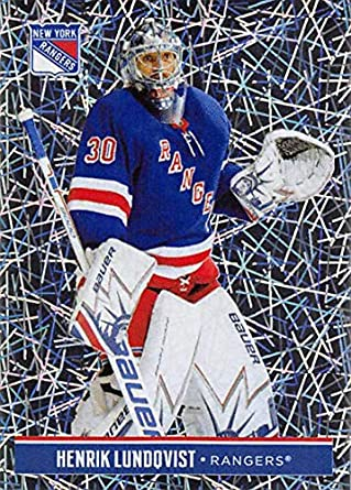 04383fade 2018-19 Panini NHL Stickers Hockey  158 Henrik Lundqvist New York Rangers  Foil