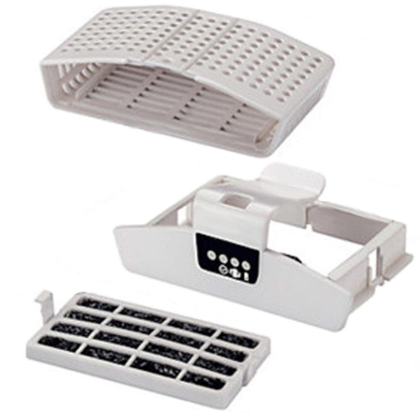 Spares2go filtro de aire ambientador Kit para nevera congeladores ...