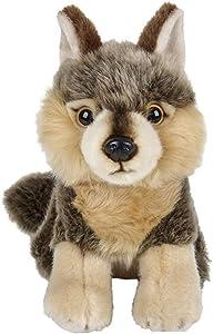 "Tribello Wolf Stuffed Animal Plush Wolf Toy 7"" inch"