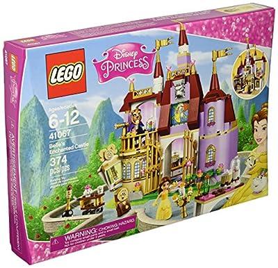 LEGO Disney Princess 41067 Belle's Enchanted Castle Building Kit (374 Piece)
