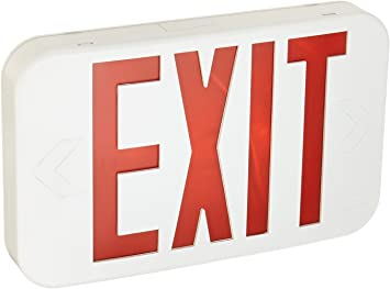 Lithonia Lighting ECR LED M6 Contractor Select Exit Sign for sale online