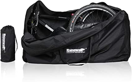 26 inch Waterproof Folding Bike Carrier Pouch Carry Bicycle Loading Bag Portable