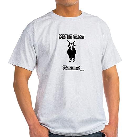 9101b56198e3 Amazon.com: CafePress Fainting Goats Rock T-Shirt Cotton T-Shirt ...
