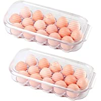 Egg Holder Disposable Betose 12 Count 20 Pack Plastic Egg Cartons for Chicken Eggs Clear Egg Holder Stackable Egg Storage Container Egg Tray Holder for Chicken Farm Home Refrigerator Storage
