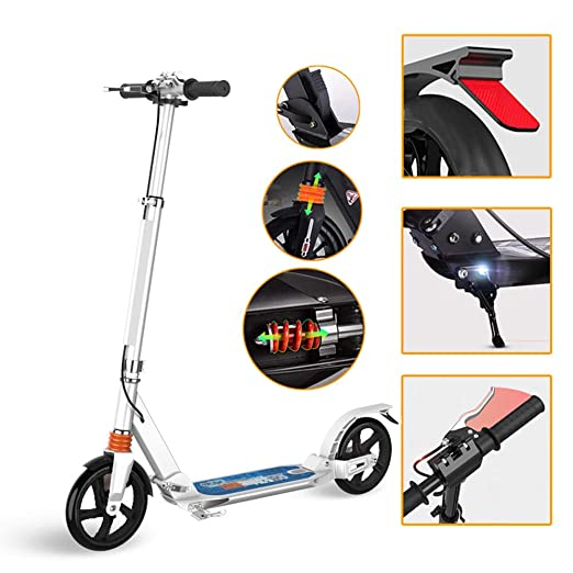 Scooter para Adultos: Diseño Plegable, Sistema De Doble ...