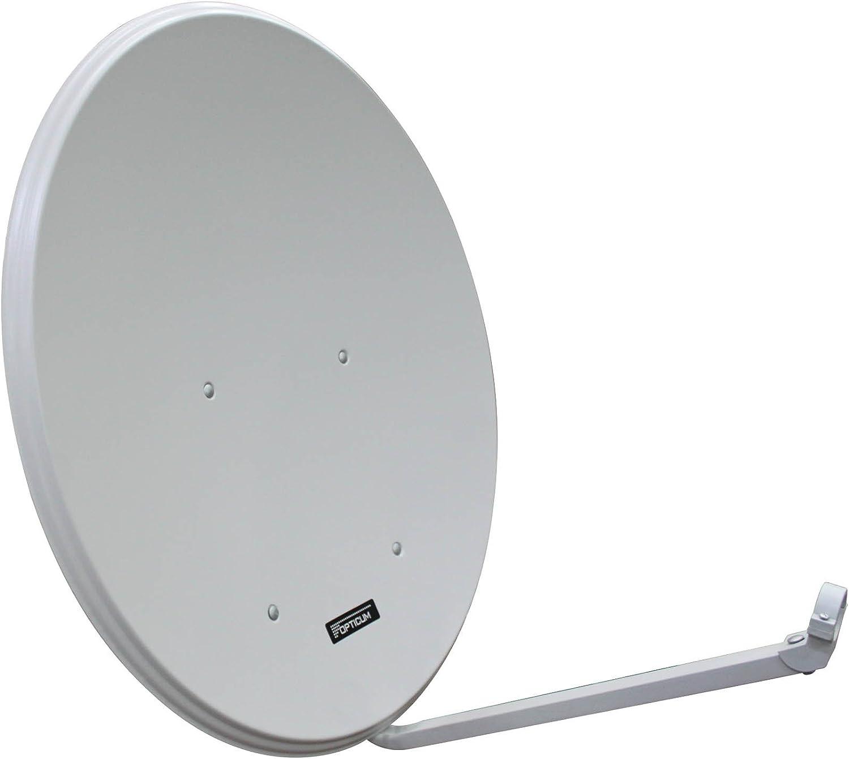 Opticum - Opticum Sat Antena parabólica de 80 cm de Aluminio ...