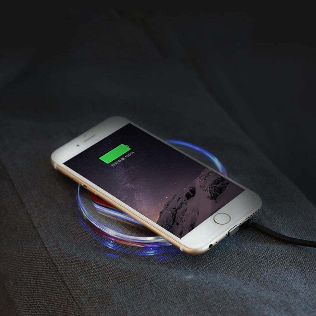 wumedy Phone Wireless Charger Wireless Charging Power Pad for Smartphones Charging Stations