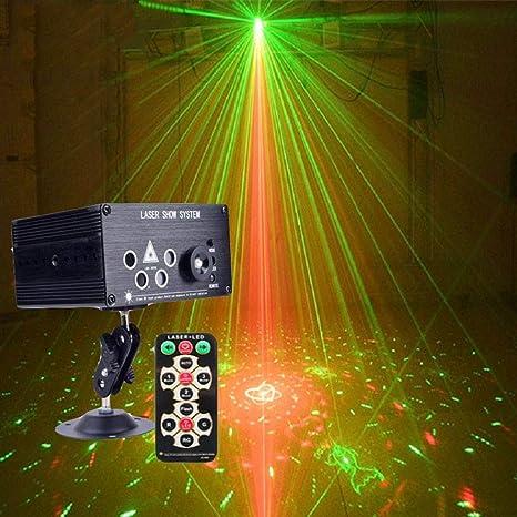 El partido enciende luces del disco de DJ de sonido activado luz ...