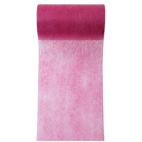 Band Tischband 10cm x 10m rosa Dekoband Schleifenband Vliesstoff Geschenkband