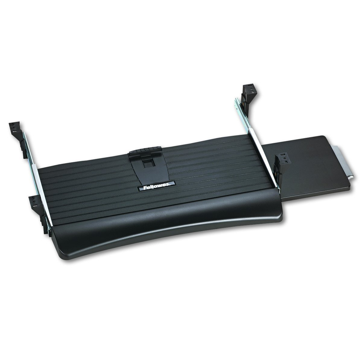 Fellowes Office Suites Underdesk Keyboard Drawer, Black/Silver (9140303) (Pack of 3)