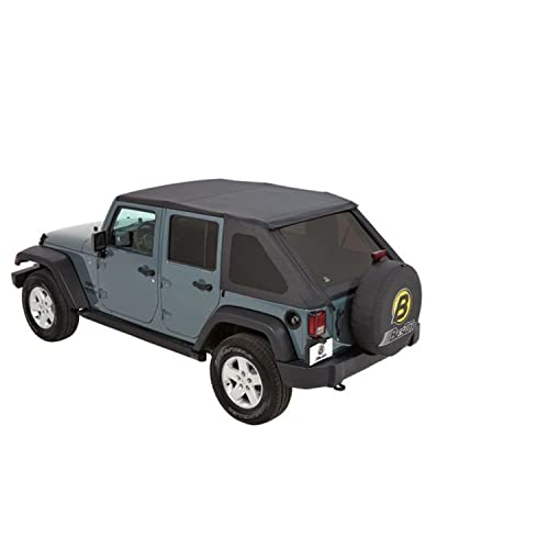 Jeep Wrangler 4 Door Soft Top And Frame Amazon Com