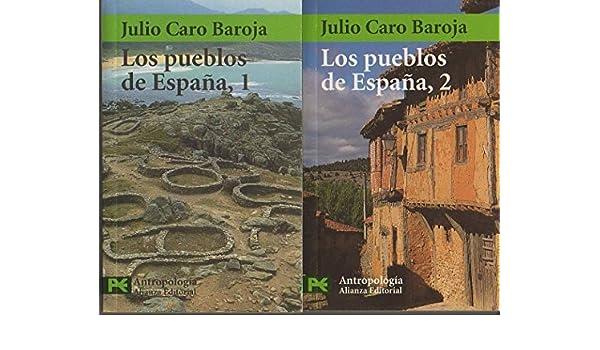 Los pueblos de España 2 vol.: Amazon.es: Libros