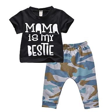 SO-buts - Conjunto de chándal para niños de 0 a 3 años, Camiseta ...