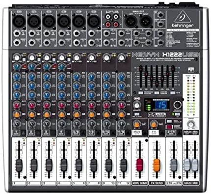 front facing Behringer X1222USB Xenyx