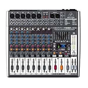 Behringer XENYX X1222USB - Mezclador para DJ, color negro