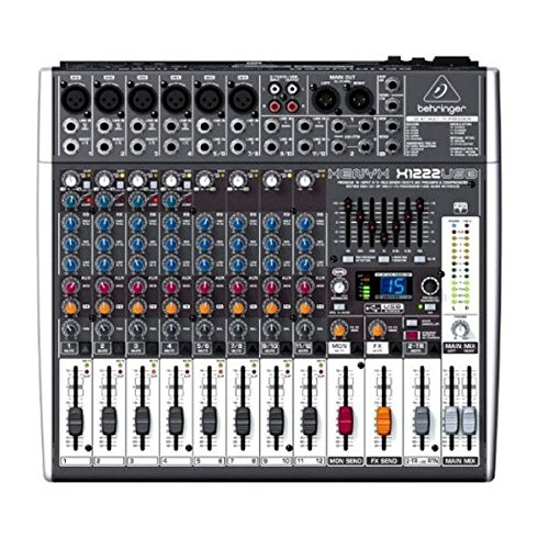 Console Bus 8 Recording (Behringer Xenyx X1222USB Premium 16-Input 2/2-Bus Mixer with USB/Audio Interface)