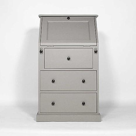 Lomo de burro-Mueble madera de pino, N123 massif., gris ...