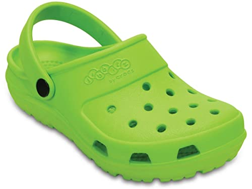 4ad21049b crocs Kids Unisex Jibbitz by Presleyy Volt Green Clogs -C11 (202963-395)
