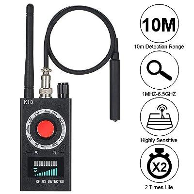 Radio Scanners Handheld Anti-Spy Wireless RF Signal Detector for Emergency/Weather Alert GSM Audio Bug Sweeper Finder Radio Scanner GPS Tracker (K18): Home Audio & Theater