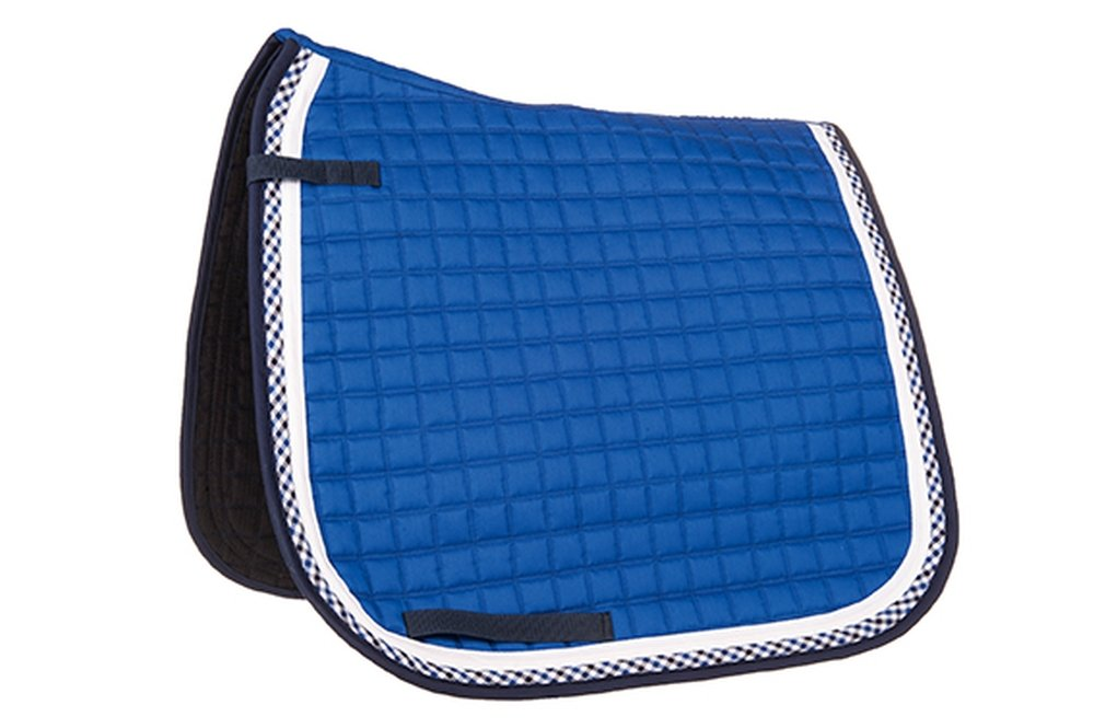 Corn bluee Pony Dressage corn bluee Pony Dressage Hkm 546095 Starlight Pony Dressage Saddle Pad, Cornflower bluee