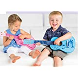 Toyrific Musical Instrument - Wooden Pink Guitar