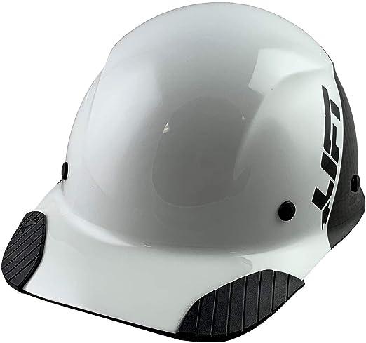 Lift Safety DAX 50-50 - Gorra de fibra de carbono, color blanco y ...