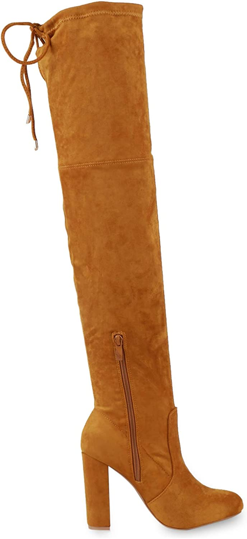 Bester Platz Neuankömmlingsmode Schlussverkauf SCARPE VITA Damen Stiefel Overknees mit Blockabsatz Dark Yellow bpgv9 qj5a5 KbuTN