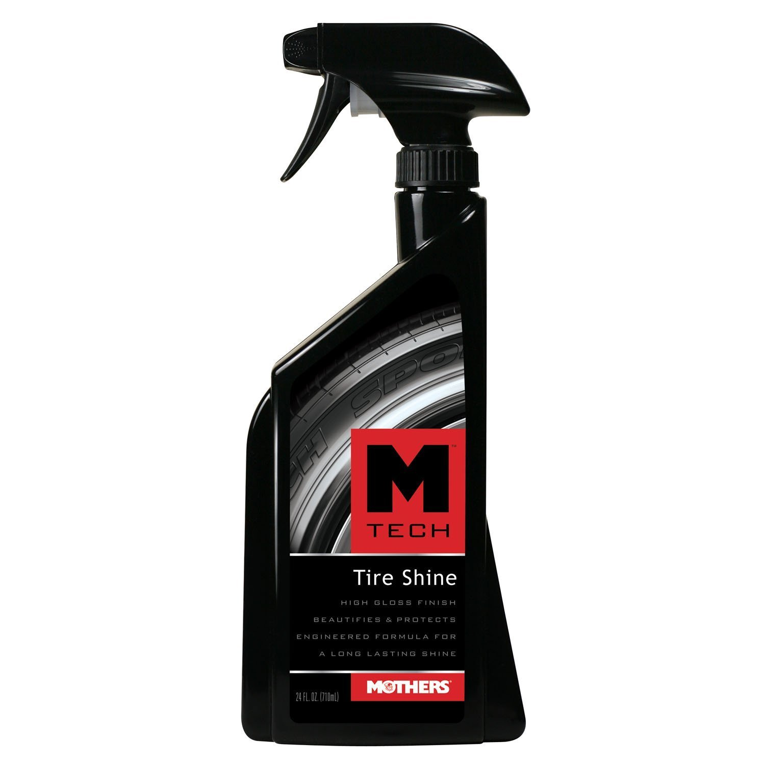 Mothers 22324-6 M-Tech Tire Shine, 24 fl. oz, (Pack of 6)