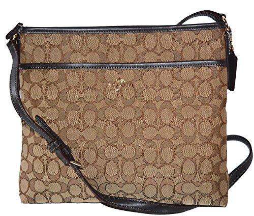 - Coach File Bag In Outline Signature F58285