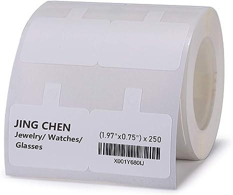 Amazon.com: Jingchen - Papel térmico para etiquetas ...