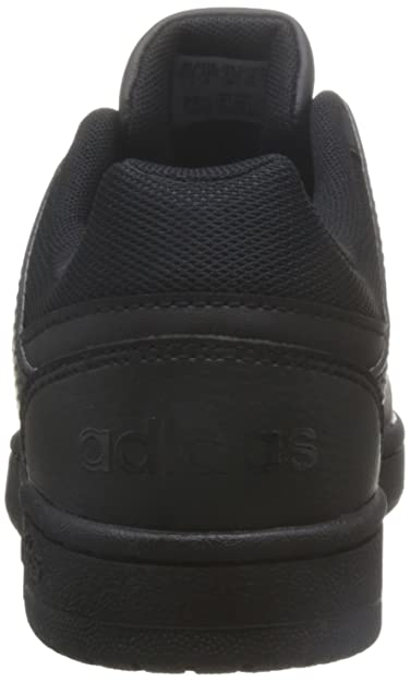 Adidas AW4767 Slipper Black VS hoopster 40 2 3 Black: Amazon